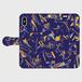 [Origin] iphoneX プルシャンブルー 手帳型スマホケース