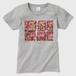 Strawberry Fields Forever横位置Tシャツ グレー Tシャツ レディース グレー レディース Sサイズ トナー熱転写