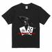 DEADMAN'S HAND(表面) Tシャツ ブラック