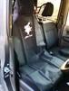 AG2101 ワンタッチカーシートカバー 1枚 ラビットプリント