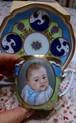 絵と装飾は一例です。オーダー赤ちゃんの絵のカップ&ソーサー