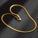 高級 K18 GOLDFILLED 喜平ネックレス メンズ 18k