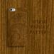 Wood Paisley 木目彫刻プリント ウォルナット風 スマホカバー