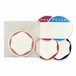 EGGSHELL STICKERS CIRCLE BLANK PACK