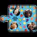 iPhonePlus・Android Lサイズ フルーツ手帳型ケース color:ブルー