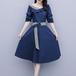 【dress】目立つ!ファッションフェミニンフリルデートワンピース着瘦せ M-0156