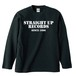 STRAIGHT UP RECORDS OFFICIAL LONG SLEEVE : 1(黒ボディー)