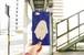 背景にうじゃうじゃいまふよ。ぽっぴんたろう紺色手帳型スマートフォンケース(メール便送料無料!)