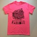 Old Cabin T-shirts (Pink) Black print