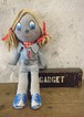 1970s LEVIS Denim Rag Doll  10inch