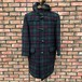 Deadstock Gloverall Duffle Coat Green Tartan Made In England GB32
