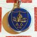 フフランス A.G.VIE パリ保険会社広告ノベルティ ブルボンキーホルダー