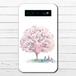 #081-023 モバイルバッテリー 孔雀 かわいい おしゃれ くじゃく iphone スマホ 充電器 タイトル:精霊鳥~春はばけもの~ 作:嘉村ギミ