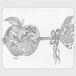 手帳型(帯なし)サイズ(L):kazue.M_012(的(まと))