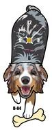 D-84 オーシー2-犬の振り子時計