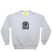 LOYALS ONLY PRISONNER OF LOVE heather crew sweat  grey
