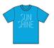 SUNSHINE Tシャツ ターコイズ
