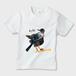 """ベビーTシャツ NZ Birds """"Tui"""" ★名前入れ可能"""