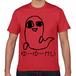 ゆーゆーかいTシャツ赤(大ロゴ)