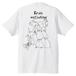 インコ大集合Tシャツ*白