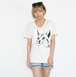 ネコ - Tシャツ