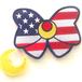 BX リボンパッチ 星条旗