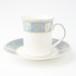 Elizabethan エリザベス ブルー ビンテージカップ&ソーサー 【イギリス】 アンティーク コーヒーカップ ティーカップ