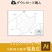 【ダウンロード】大阪市福島区(AIファイル)