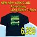 NEW NEW YORK CLUB / Advertising Long Sleeve T-Shirt