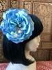 Flower hair ornament-Light blue1
