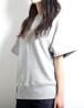 Sweat T-Shirts (Gray) (Lady's Size)