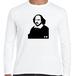 シェイクスピア イングランド 文豪 歴史人物ロングTシャツ034