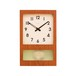 FROSTED PENDULUM CLOCK【CAFE BROWN】