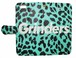 GRINDERS iPhone case notebook type (Tiffany green)