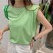 【tops】話題の注目 アイテムゆったり カジュアルラウンドネックTシャツ2色