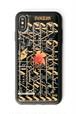 FLASH NERV iPhone XS Maxケース 黒【東京回路線図ピンズをプレゼント】