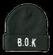 B.O.K Beanie -GREEN-
