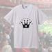 FOOT CROWN サークルロゴ デザインTシャツ ホワイト