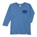 Tri Brend 3/4 Sleeve T-Shirt / MFP / Heather Blue