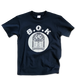"B.O.K T-shirt ""JUKEBOX""<navy&grey>"