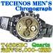 テクノス 紳士 クロノグラフ クォーツ T4685BC 定価¥35,000-(税別)新品です。