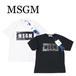 MSGM BOXロゴTシャツ