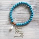 ◆SALE◆ Power Stone Bracelet -Shell&Turquoise-