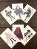『武狂争覇』ポストカードセット(6枚1組)