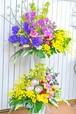 E0223) 豪華な2段スタンド花