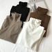 4カラー展開韓国ファッションシンプル無地カジュアルTシャツ・トップス