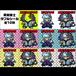 Demon Sword Warrior (Asagi Ishihara & Asagi Demon Sword Warrior) Double Seal - 10 sheets
