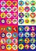 ■リリース記念4種類set A4用紙 037-040【felted fabric】5枚×4種 1500円