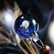 ガラスの惑星宇宙ペンダント/【訳あり、試作品】20210112