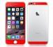 iPhone6、iPhone6Plus用 両面カスタムデザイン液晶フィルムシール(レッド)